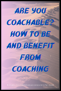Are you coachable